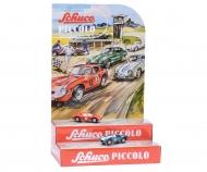 Piccolo Mini-Display II with Piccolo Ferrari 250 Le Mans #5 and AC Cobra #6
