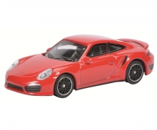 Porsche 911 Turbo (991), guards red, 1:64