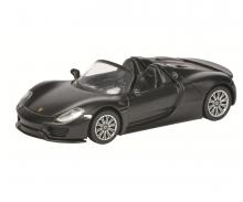 Porsche 918 Spyder, black, 1:64