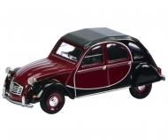 Citroén 2 CV Charleston, red-black