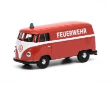 """VW T1 Kastenwagen """"Feuerwehr"""", 1:64"""