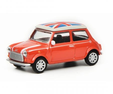 "Mini Cooper ""Union Jack"", rot weiß, 1:64"