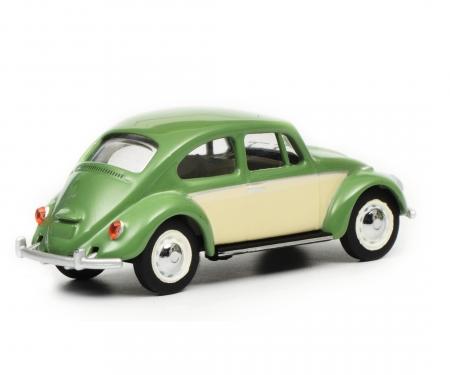 VW Käfer, resedagrün beige, 1:64
