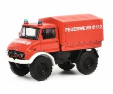 """Mercedes-Benz Unimog U406 """"Feuerwehr"""", 1:64"""