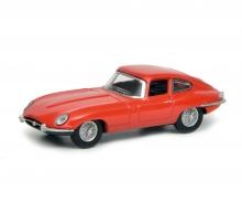 Jaguar E-Type Coupé, red, 1:64