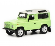 Land Rover Defender, green white, 1:64
