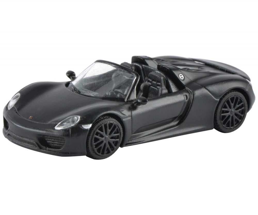 porsche 918 spyder concept black 1 87 edition 1 87. Black Bedroom Furniture Sets. Home Design Ideas