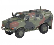 "Dingo I, all protection vehicle ""Bundeswehr"", camouflaged 1:87"