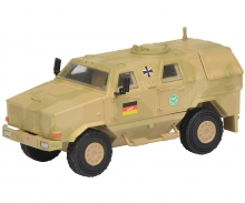 "Dingo I, all protection vehicle ""ISAF"", camouflaged 1:87"