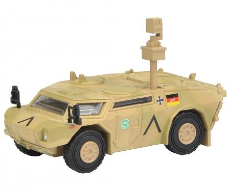 """Fennek Panzerspähwagen """"ISAF"""", flecktarn 1:87"""