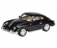 Porsche 356 Coupé, black 1:87