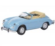 Porsche 356 Cabrio, blue 1:87