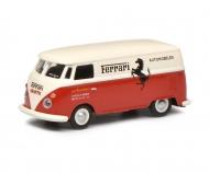 VW T1 Ferrari red/white 1:87