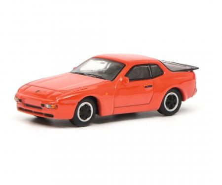 Porsche 944, red 1:87