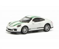 Porsche 911 R (991), weiß/grün 1:87
