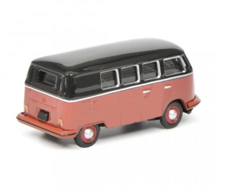 VW T1c bus, black red, 1:87