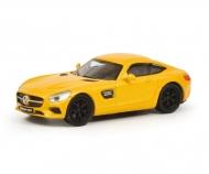 Mercedes AMG GT, gelb, 1:87