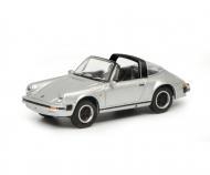 Porsche 911 Carrera 3.2 Targa, silber, 1:87