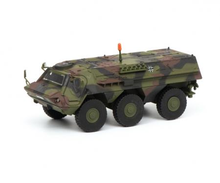"Fuchs infantry transport vehicle ""Bundeswehr"", camouflaged, 1:87"