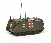 "M113 infantry ambulance vehicle ""Bundeswehr"", 1:87"