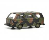 "VW T3 bus ""Bundeswehr"", camouflaged, 1:87"