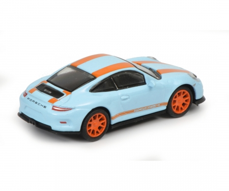 Porsche 911 R, gulfblau orange, 1:87