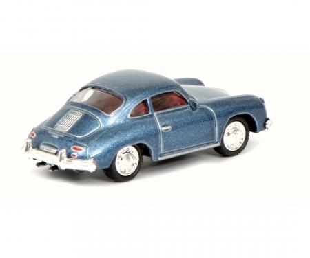 Porsche 356 Coupé, blue 1:87