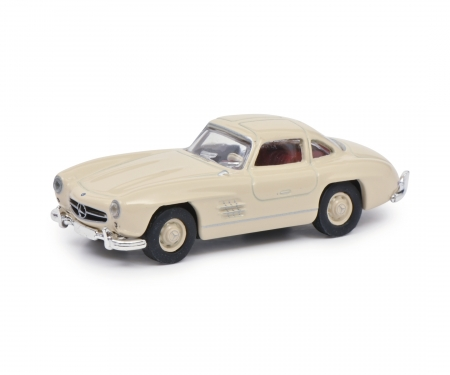 Mercedes-Benz 300SL Coupé, beige, 1:87