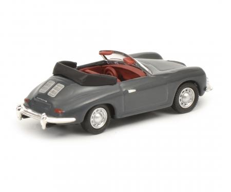 Porsche 356 Cabrio, grey, 1:87