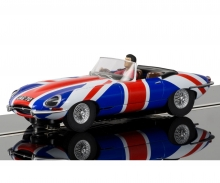 1:32 Jaguar E-Type Union Jack HD