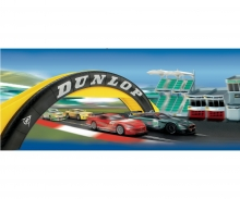 Scalextric Dunlop Footbridge (Diorama)