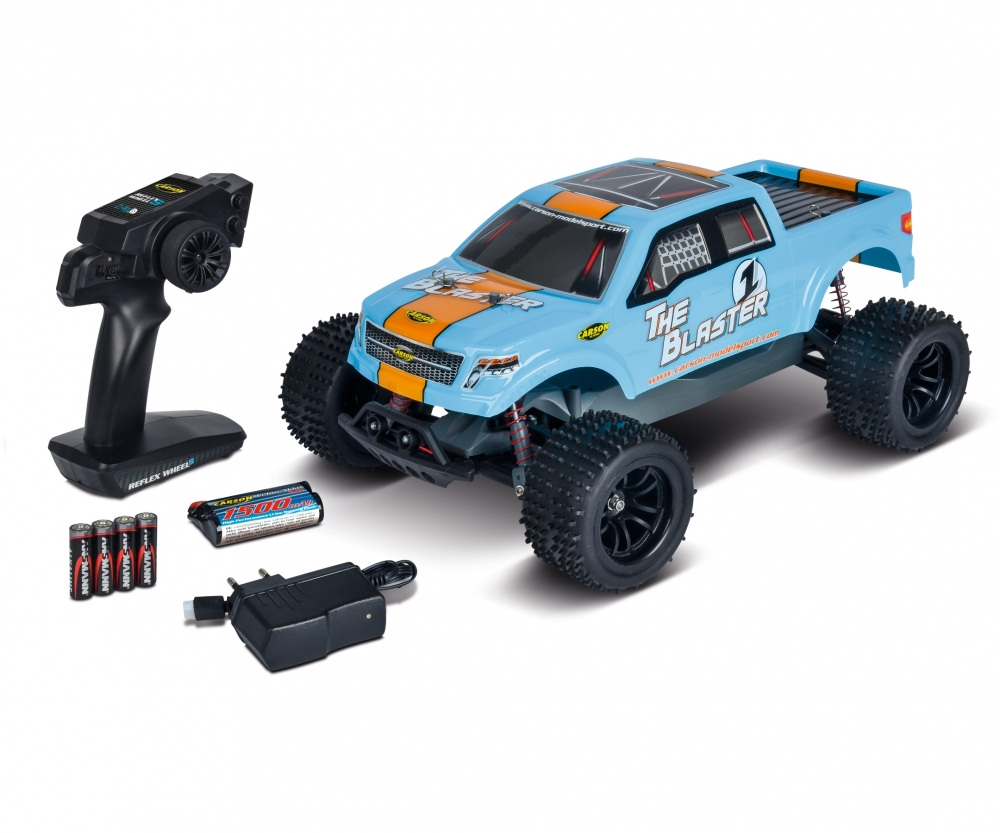 110 The Blaster Fe 24g 100 Rtr Electric Cars Carson Rc Models Glowplug Driver For Radio Control