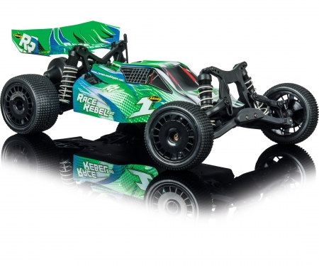 1:10 Race Rebel 2WD X10 2.4G 100% RTR