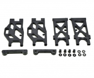 X10EB Lower Suspension Arm + Holder f/r