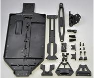 X10EB Chassis- + Anbauteile-Set