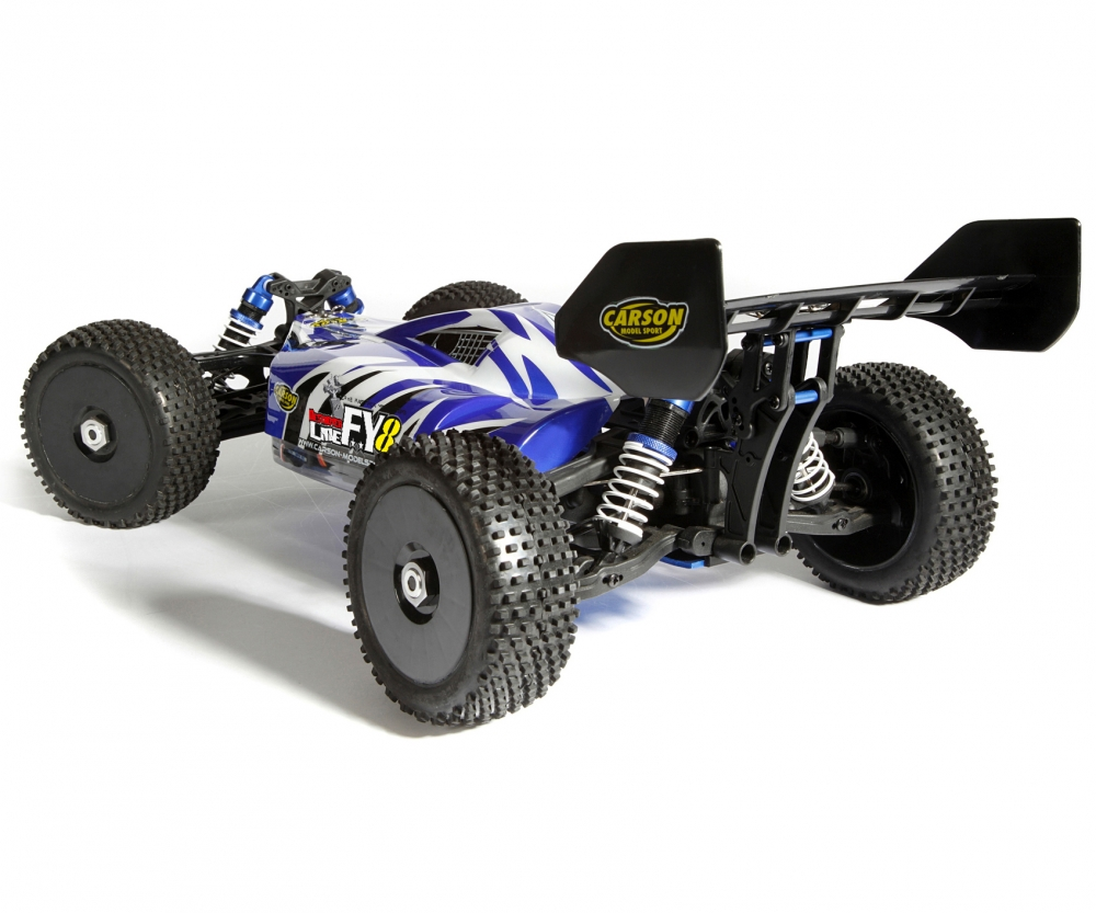 Carson fy8 destroyer line 4s 2 4 ghz rtr brushless cars for The carson
