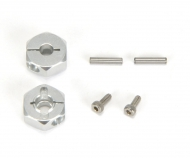 DT03 Alum. 12mm Hex Drive Washer (2) Cl.