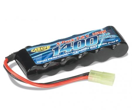Akku 7,2 V/1400 mAh 2/3 AA Mini Tamiya