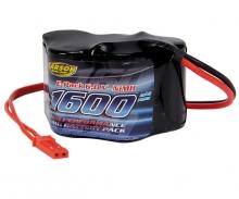 Akku Pack Empfänger 6 V / 1600 mAh NiMH