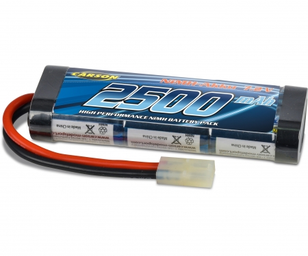 Akku Racing Pack 7,2V/2500mAh NiMH