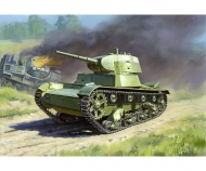1:100 WWII Soviet Tank T-26