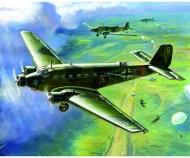 1:200 WWII Ju-52 Transport Flugzeug