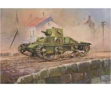 "1:100 British Light Tank ""Matilda Mk. I"""