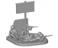 1:72 German Sniper Team