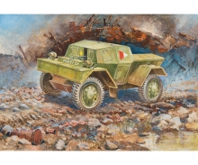 1:100 British Armored Scout Car Dingo MK