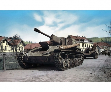 1:100 SU-76M Sov.Self Propelled Gun WWII