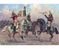 1:72 French Dragoon Command Group
