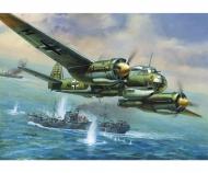 1:72 WWII Ger. Bomber Junker JU-88A4