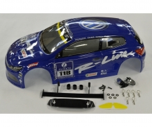1:10 Body Set VW Scirocco blue X10E