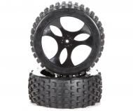1:5 Reifen-/Felgen Set Dirt Attack 2 St.